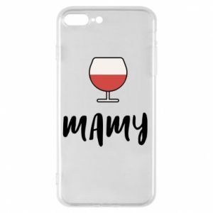Phone case for iPhone 8 Plus Mommy and wine