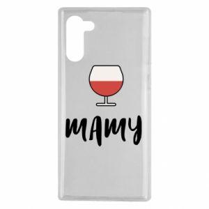 Etui na Samsung Note 10 Mama i wino