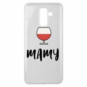 Etui na Samsung J8 2018 Mama i wino