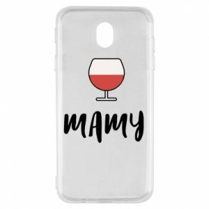 Etui na Samsung J7 2017 Mama i wino