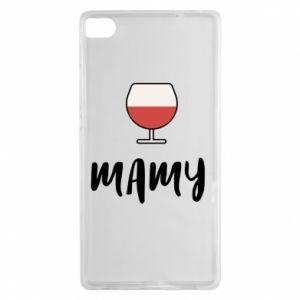Etui na Huawei P8 Mama i wino