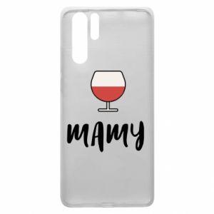 Etui na Huawei P30 Pro Mama i wino