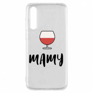 Etui na Huawei P20 Pro Mama i wino