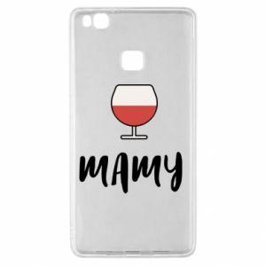 Etui na Huawei P9 Lite Mama i wino
