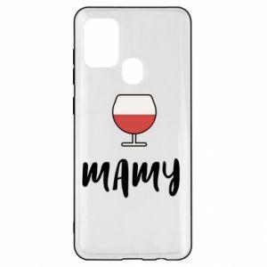 Etui na Samsung A21s Mama i wino