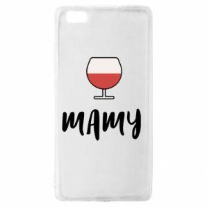 Etui na Huawei P 8 Lite Mama i wino