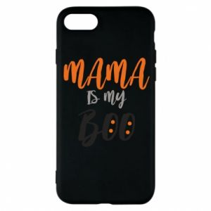 Phone case for iPhone 8 Mama is my boo - PrintSalon