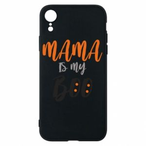 Phone case for iPhone XR Mama is my boo - PrintSalon