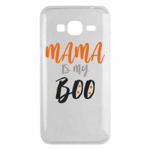 Phone case for Samsung J3 2016 Mama is my boo - PrintSalon