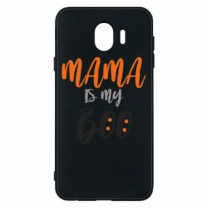 Phone case for Samsung J4 Mama is my boo - PrintSalon