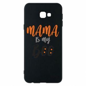 Phone case for Samsung J4 Plus 2018 Mama is my boo - PrintSalon