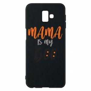 Phone case for Samsung J6 Plus 2018 Mama is my boo - PrintSalon
