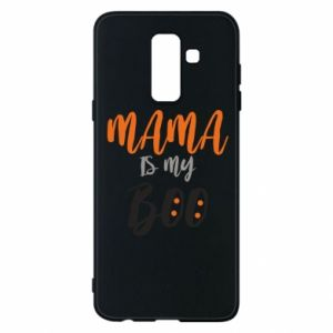 Phone case for Samsung A6+ 2018 Mama is my boo - PrintSalon