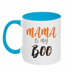 Two-toned mug Mama is my boo - PrintSalon