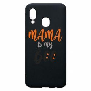 Phone case for Samsung A40 Mama is my boo - PrintSalon