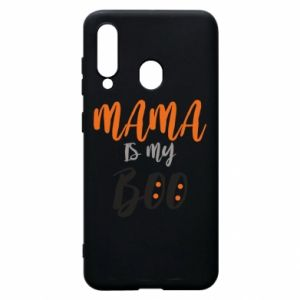 Phone case for Samsung A60 Mama is my boo - PrintSalon