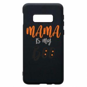 Phone case for Samsung S10e Mama is my boo - PrintSalon