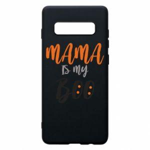 Phone case for Samsung S10+ Mama is my boo - PrintSalon