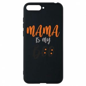 Phone case for Huawei Y6 2018 Mama is my boo - PrintSalon