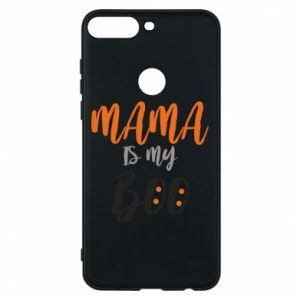 Phone case for Huawei Y7 Prime 2018 Mama is my boo - PrintSalon