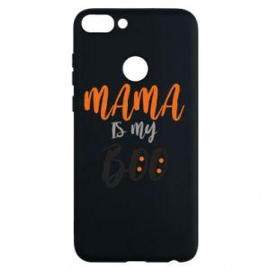 Phone case for Huawei P Smart Mama is my boo - PrintSalon