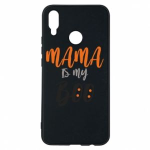 Phone case for Huawei P Smart Plus Mama is my boo