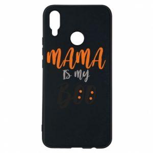 Phone case for Huawei P Smart Plus Mama is my boo - PrintSalon