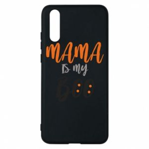 Phone case for Huawei P20 Mama is my boo - PrintSalon