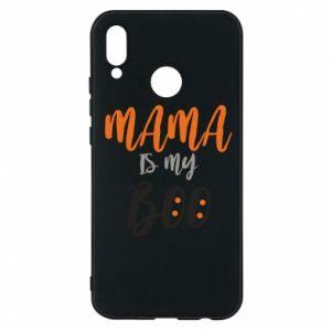 Phone case for Huawei P20 Lite Mama is my boo - PrintSalon