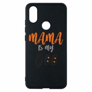 Phone case for Xiaomi Mi A2 Mama is my boo - PrintSalon