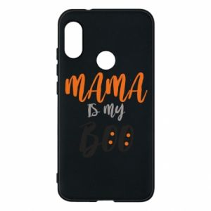 Phone case for Mi A2 Lite Mama is my boo - PrintSalon