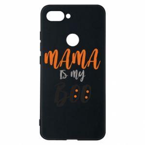 Phone case for Xiaomi Mi8 Lite Mama is my boo - PrintSalon