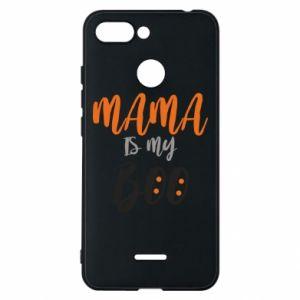 Phone case for Xiaomi Redmi 6 Mama is my boo - PrintSalon