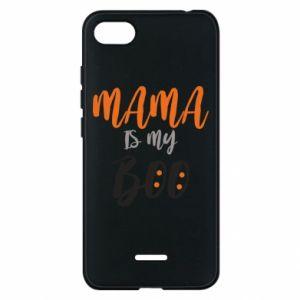 Phone case for Xiaomi Redmi 6A Mama is my boo - PrintSalon