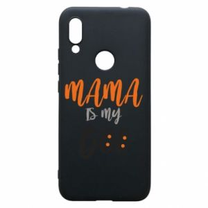 Etui na Xiaomi Redmi 7 Mama is my boo