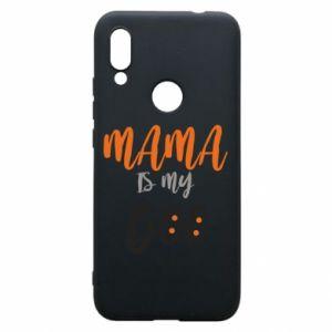 Phone case for Xiaomi Redmi 7 Mama is my boo - PrintSalon