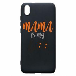 Phone case for Xiaomi Redmi 7A Mama is my boo - PrintSalon
