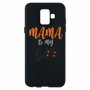 Phone case for Samsung A6 2018 Mama is my boo - PrintSalon