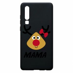 Etui na Huawei P30 Mama jeleń