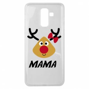 Etui na Samsung J8 2018 Mama jeleń