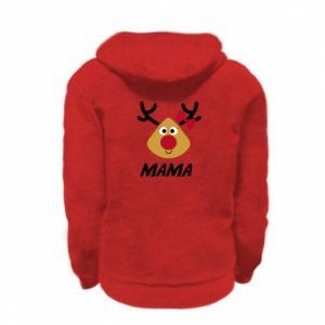 Bluza na zamek dziecięca Mama jeleń