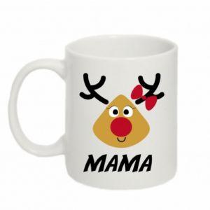 Kubek 330ml Mama jeleń