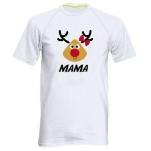 Koszulka sportowa męska Mama jeleń