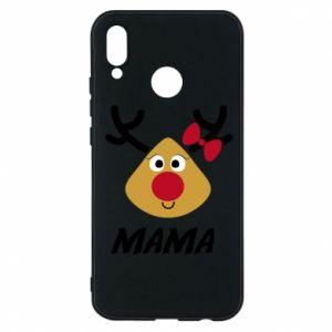 Etui na Huawei P20 Lite Mama jeleń