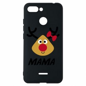 Etui na Xiaomi Redmi 6 Mama jeleń