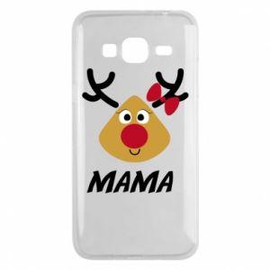 Etui na Samsung J3 2016 Mama jeleń