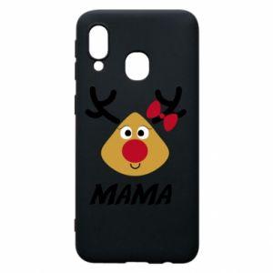 Etui na Samsung A40 Mama jeleń