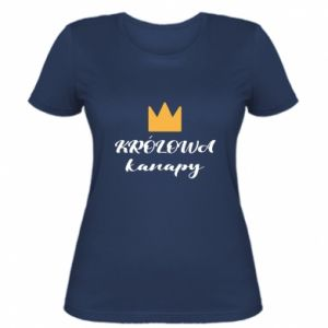Women's t-shirt The queen of the couch