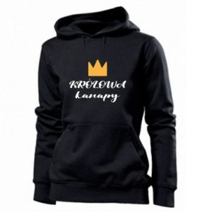 Women's hoodies The queen of the couch - PrintSalon