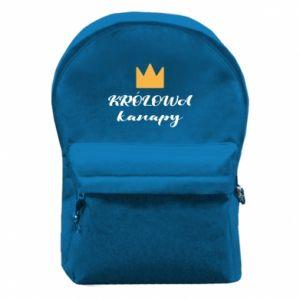 Plecak z przednią kieszenią Królowa kanapy